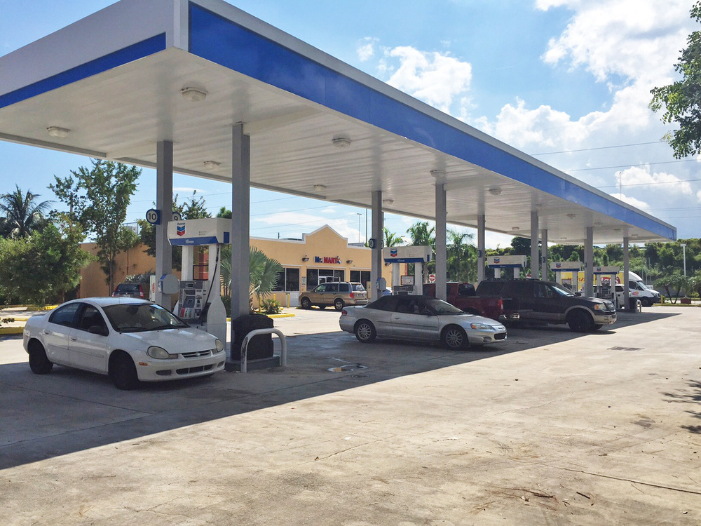 LDCRE - Turnpike Square: A value add gas station property on