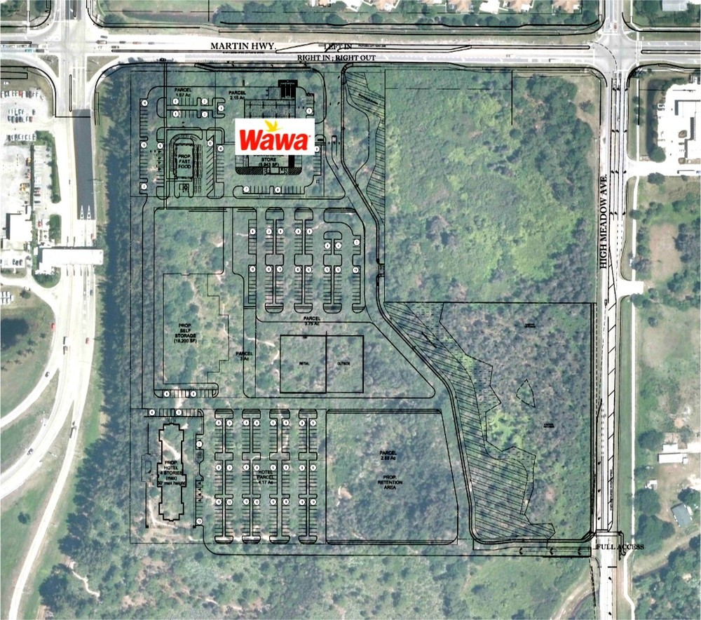 SE quadrant of Martin Hwy. (SR 714) and Florida's Turnpike, In-Line Retail/Restaurant Space, Palm City, Florida 34990