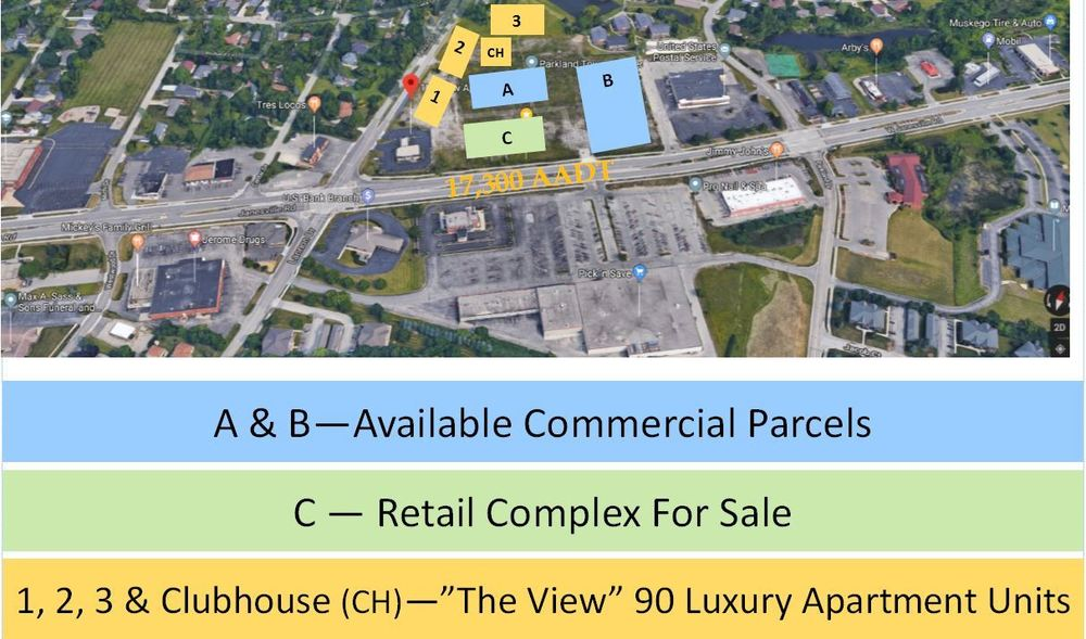 Intersection of Lannon Dr %26 Janesville Rd, Parcel A-Lease, Muskego, Wisconsin 53150